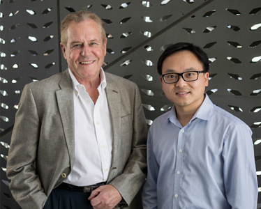 Professor David Carmichael (left) and Dr Johnson Shen (right)